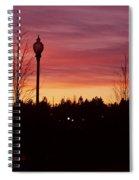 Evening In Riverfront Park Spiral Notebook