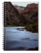 Evening In The Canyon Spiral Notebook