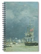 Evening Le Havre Spiral Notebook