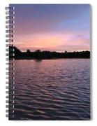 Evening Light Amazon River Spiral Notebook