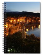 Evening Light In Collioure Spiral Notebook