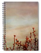 Evening Mocking Bird Spiral Notebook