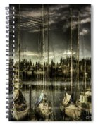 Evening Mood Spiral Notebook
