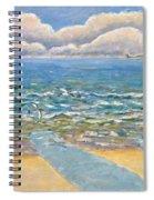 Evening North Myrtle Beach Spiral Notebook