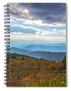 Evening On The Blue Ridge Parkway Spiral Notebook