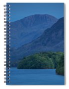 Evening Over Derwentwater Spiral Notebook