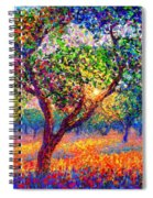 Evening Poppies Spiral Notebook