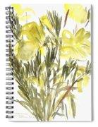 Evening Primroses Spiral Notebook