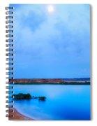 Evening Seascape Spiral Notebook