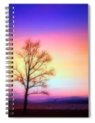 Evening Sky Spiral Notebook
