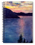 Evening Song Spiral Notebook