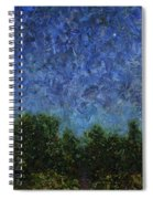 Evening Star - Square Spiral Notebook