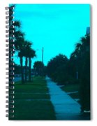 Evening Stroll At Isle Of Palms Spiral Notebook