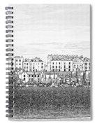 Evening Sunshine Over Tenby Spiral Notebook