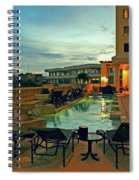 Evening Swim Spiral Notebook