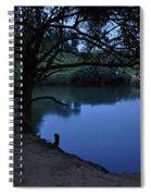 Evening Time At Kfar Blum Spiral Notebook