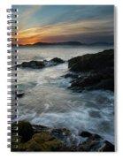 Evening Turmoil Spiral Notebook