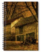 Evening Twilight Fades Away Spiral Notebook