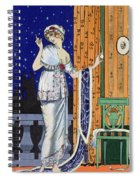 Evening Wear From Costume Parisien Spiral Notebook