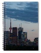 Eventide - Slow Dusk In Toronto Spiral Notebook