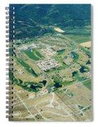 Ever-expanding Driggs, Idaho. Teton Spiral Notebook