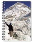 Everest Base Camp Spiral Notebook