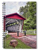 Everett  Bridge Spiral Notebook