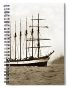 Everett G. Griggs Sailing Ship Washington State 1905 Spiral Notebook