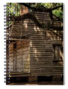 Evergreen Plantation Slave Quarters Spiral Notebook