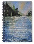 Evergreen Shore Spiral Notebook
