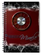 Everyday Miracle - Time - Splash Spiral Notebook