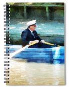 Everyone Is The Captain Of Their Own Boat Spiral Notebook