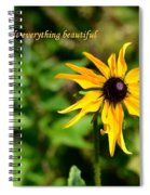 Everything Beautiful Spiral Notebook