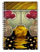 Everything Is In Order In The Universe Pop Art Spiral Notebook
