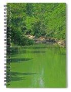 Everywhere Green Spiral Notebook