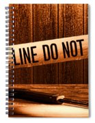 Evidence Spiral Notebook