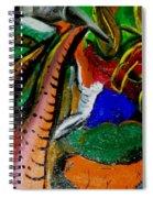 Evil Aloe Vera Spiral Notebook