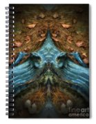 Evil Autumn Tree Roots Spiral Notebook