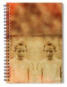 Evil Twins Spiral Notebook