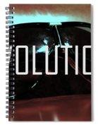Evolution Spiral Notebook
