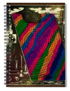 Evolution Of Art Spiral Notebook
