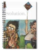 Evolution The Poster Spiral Notebook