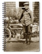 Excalibur Motorcycle California Circa 1915 Spiral Notebook