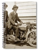 Excalibur Motorcycle Circa 1920 Spiral Notebook