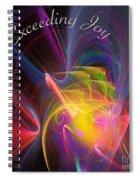 Exceeding Joy Spiral Notebook