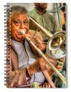 Excelsior Band Horn Player Spiral Notebook