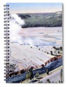Excelsior Geyser, Yellowstone Np, 20th Spiral Notebook
