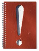 Exclamation Point Spiral Notebook