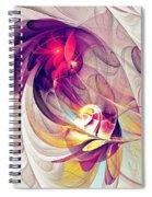 Exhilarated Spiral Notebook