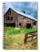 Exit 166 Barn Spiral Notebook
